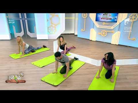Exerciţii de stretching ca să mențineți starea de bine