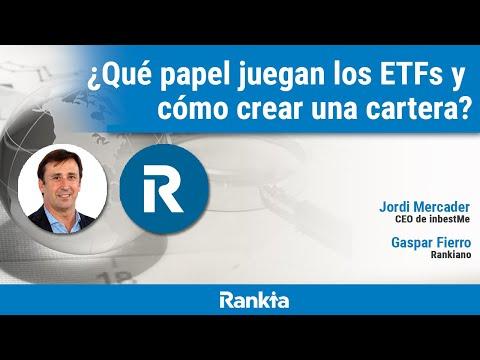 Jordi Mercader, CEO de inbestMe y Gaspar Fierro, reconocido Rankiano, hablarán sobre qué es un ETF, cómo seleccionarlos y cómo crear una cartera diversificada con ETFs. 👉 Promoción por ser de Rankia: https://bit.ly/2CecSPP