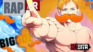 🔴 Rap do Bigode do Escanor (Nanatsu no Taizai) | Kêita Beats