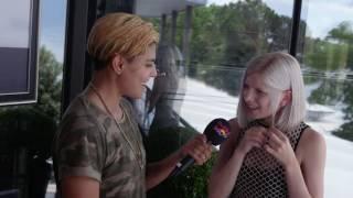 AURORA - interview (Montreux Jazz Festival 2016)