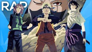 🔴 Rap do Time Sete (Naruto) l Águia l Conjunto 19