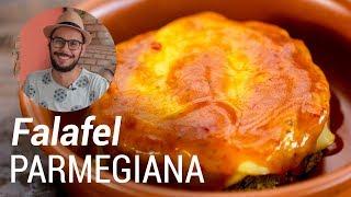 Falafel Recheado a Parmegiana - Web à Milanesa