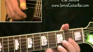 How To Play Cat Stevens The Wind (intro only)