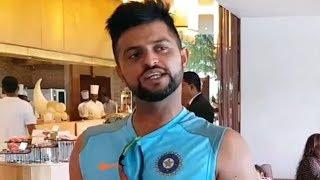 Wow! Cricketer Suresh Raina Sings So Good - Yeh Shaam Mastani