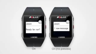 Smart Notifications with the Polar V800 and Polar M400