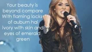 Miley Cyrus feat.Dolly Parton - Jolene (lyrics)