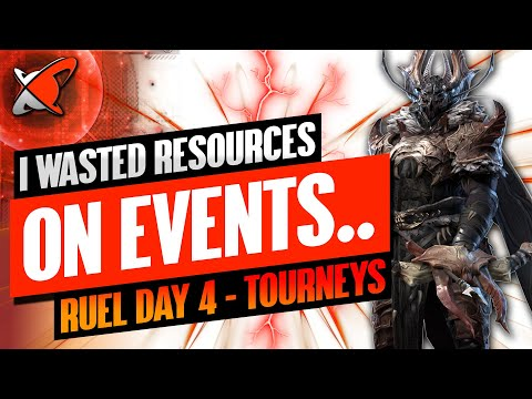 DON'T WASTE RESOURCES ON THIS! | Ruel The Huntmaster Day 4 | BGE's Guides | RAID: Shadow Legends