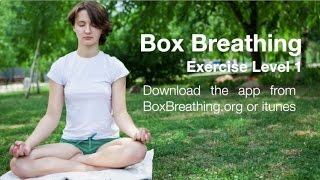 Box Breathing Exercises - Level 1
