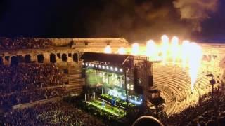 Rammstein - Sonne @ arènes de Nîmes 11/07/17
