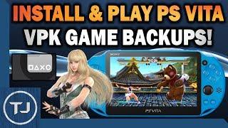 PS Vita Install & Play VPK Game Backups On 3.65/3.68 (VitaShell) width=
