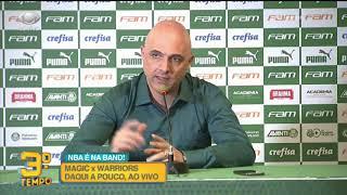 Presidente do Palmeiras anuncia demissão de Mano e Mattos