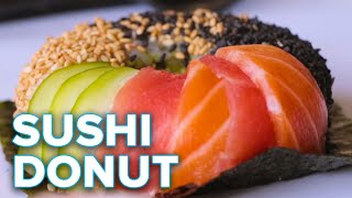 How To Make A Sushi Donut