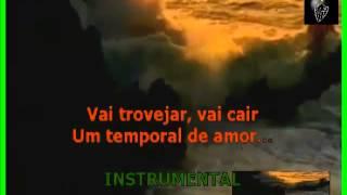 VIDEO KARAOKE LEANDRO E LEONARDO TEMPORAL DE AMOR
