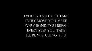 Every Breath You Take - The Police (Lyrics/Letra) - Cover