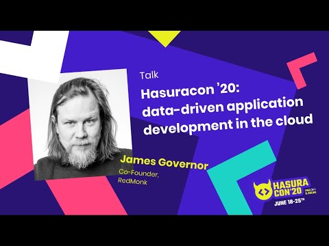 Hasuracon '20: data-driven application development in the cloud