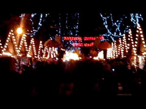 Новогодняя Ярмарка Львов Центр Ёлка 2012 – 2013 Lviv Ukraine