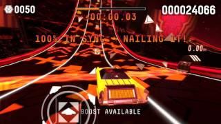 RIFF RACER (PC): CF0$ - The Rising Sun (Shinsuke Nakamura Theme)