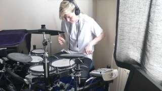 The Vamps Drum Cover Middle Of The Night