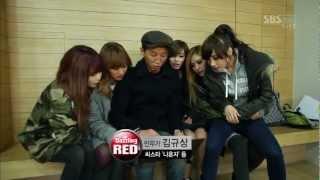Dazzling Red(in Hyorin) & Mystic White(in Bora)