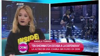 Ángela Torres habló de su conflicto con Lali Espósito