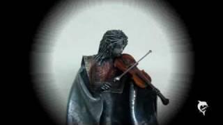Solitude Violin Player