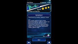 Yugioh Duel Links - Duel Quiz Level 3 : Burning Nova 2
