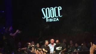 Carl Cox plays the last track ever at Space Ibiza closing 2016