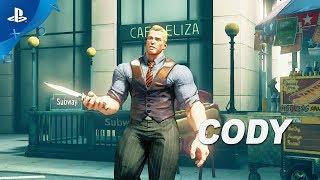 Street Fighter V: Arcade Edition – Cody Gameplay Trailer | PS4