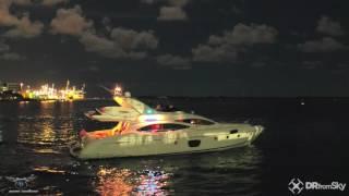DJI Zenmuse X5 4K Night With Inspire 1 Pro Miami Beach