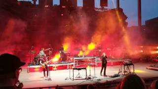 Nick Murphy and Marcus Marr at Red Rocks 5/12/17 - The Trouble with Us.