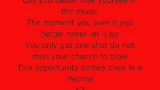 Astro - Lose Yourself Lyrics X Factor USA
