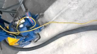using captive blast machine to key floor prior to painting spe 9es