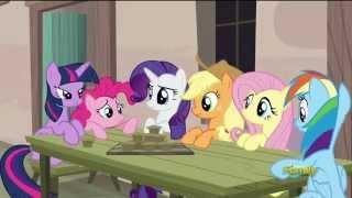 Applejack - I got an idea, but you gotta eat all them muffins, Pinkie. (1080p)
