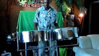Steel pan live music by Carlton Lambert, Part III - Baila Amor