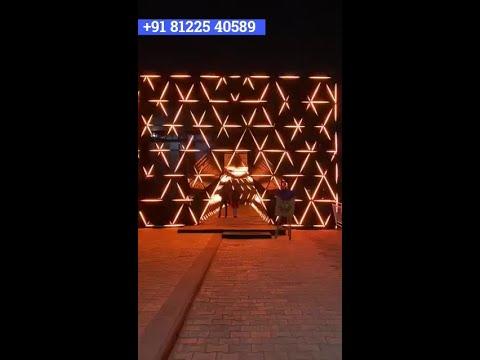 3D LED Light Entry Entrance Wedding Decoration Chennai | Bangalore | Hyderabad +91 81225 40589