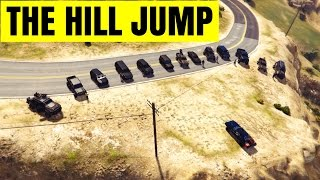 GTA 5 Fast and Furious 7 Hill Jump Scene