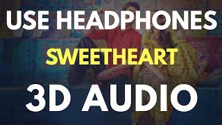 SWEETHEART (3D AUDIO) | Virtual 3D Audio