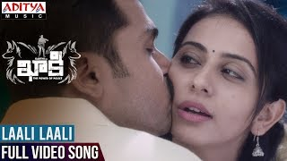 Laali Laali Full Video Song || Khakee Video Songs || Karthi, Rakul Preet || Ghibran width=