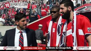 Nikola Mirotic Cristiano Felicio Chicago Fire vs  Montreal