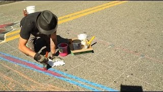 Tracy Lee Stum presents 3D Street Painting - Tony Camarrano Interview