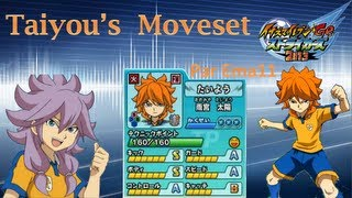 Taiyou's Moveset in Inazuma Eleven Go Strikers 2013