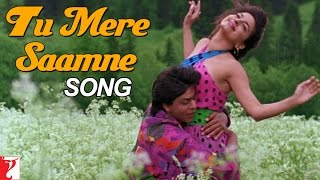 Tu Mere Saamne Song   Darr   Shah Rukh Khan   Juhi Chawla   Lata Mangeshkar   Udit Narayan