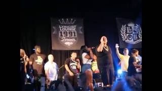 Fat Joe Free Concert Bronx NY - Lean Back