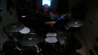 Rockin the Blues Away (AC/DC Drum Cover)
