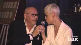 Paulo Gonzo e Mariza em dueto no Jantar de Natal da Lux