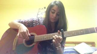 Ana Aayech Guitar Cover - Amr Diab - by Melissa Gharibeh