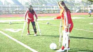 cripples playing soccer