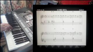 Enya - Only time (REMIX 2017) на синтезаторе Yamaha PSR-S970