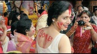 Sridevi's Last Year HOLI Celebration With Family | Boney Kapoor, Jhanvi Kapoor, Khushi Kapoor