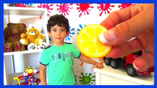 Learn Names of Fruits and Vegetables for kids